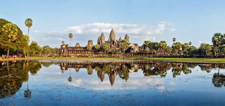 ランドマーク カンボジア アンコール ・ ワット全景