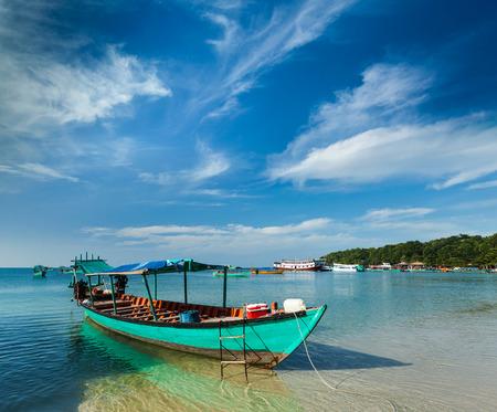 Boten in Sihanoukville