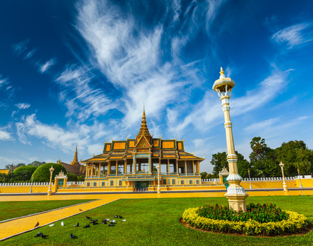 penh: Royal Palace complex in Phnom Penh