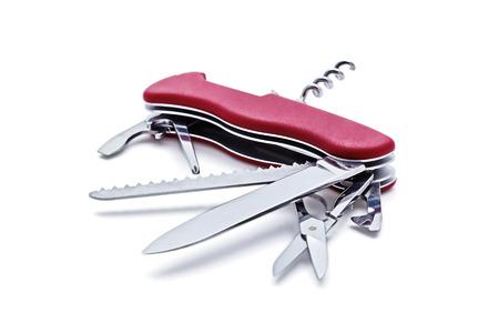 pocket knife: knife isolated