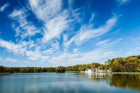minsk: Kamsamolskaje Voziera lake, Minsk, Belarus