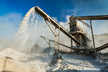 Trituradora industrial - máquina de trituración de piedra de la roca