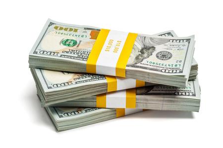cash money: Manojos de $ 100 billetes de banco de la edición 2013