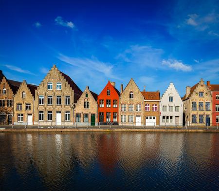 bruges: European town. Bruges Brugge, Belgium
