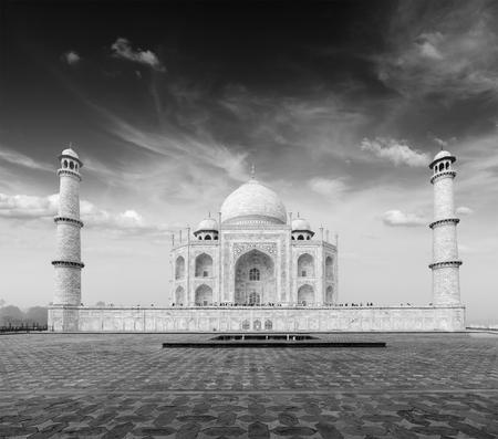 mausoleum: Taj Mahal, Agra, India