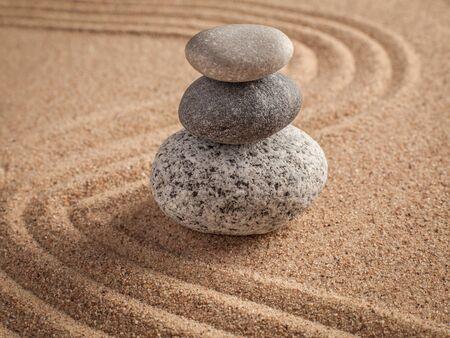 zen like: Japanese Zen stone garden