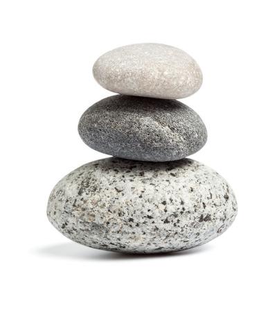 rock: Zen stones balance concept Stock Photo