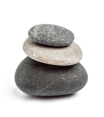 禅石バランス概念 写真素材