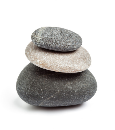 Zen stones balance concept Stock Photo