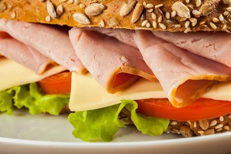 ham sandwich: Panino al prosciutto