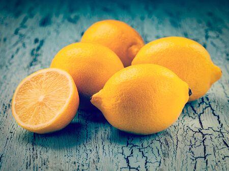 cross process: Five lemons