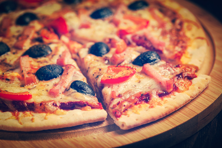 pizza: Jamón de pizza