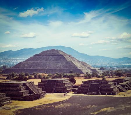 Teotihuacán Pyramiden