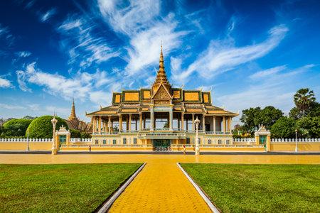 Phnom Penh Royal Palace complex Editoriali