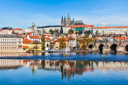 Gradchany Prague Castle and St. Vitus Cathedral