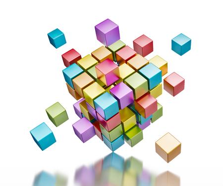 Business teamwork internet communication concept Stockfoto