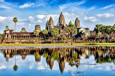 temple tower: Angkor Wat
