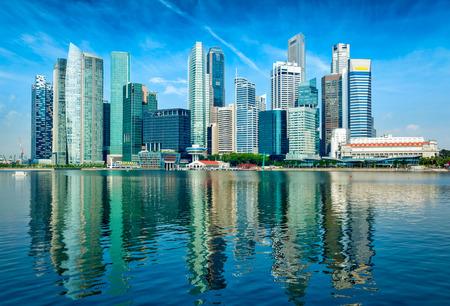 Moderne Skyline der Stadt Standard-Bild - 41652649