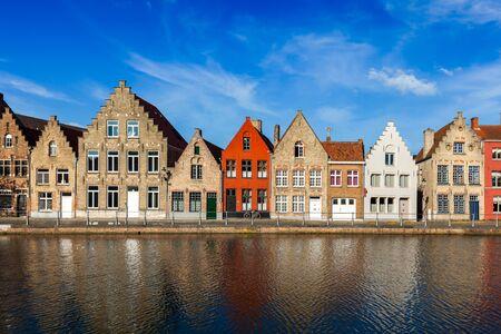 medieval: Ciudad europea. Brujas, Bélgica