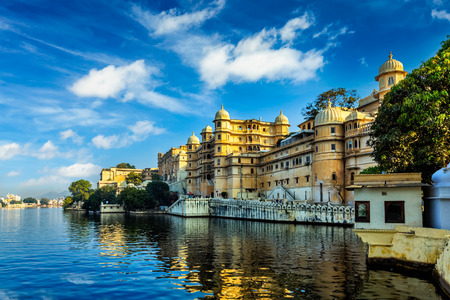 tourism: City Palace. Udaipur, India