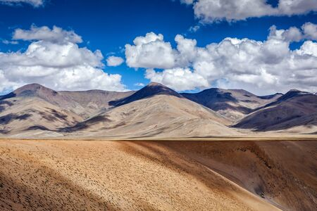 plains indian: Himalayan landscape near Manali-Leh road. More plains, Ladakh, India