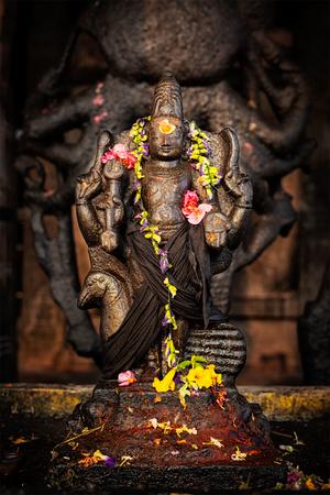 hindu temple: Murugan Hindu deity image. Brihadishwara Temple. Tanjore (Thanjavur), Tamil Nadu, India