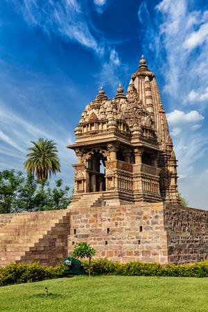 Javari Temple in Khajuraho, Madhya Pradesh, India Stock Photo