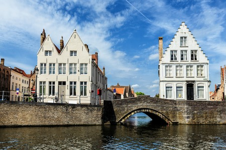 Houses of Bruges Brugge, Belgium Stock Photo