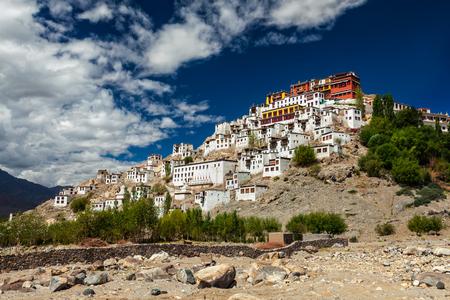 Thiksey gompa, Ladakh, India Stock Photo