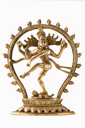 Statue of Shiva Nataraja - Lord of Dance isolated