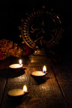 Diwali lights, India Stock Photo