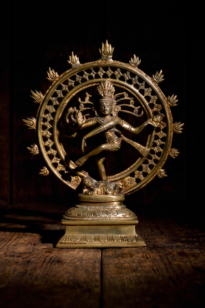 Statue of Shiva Nataraja - Lord of Dance Stok Fotoğraf