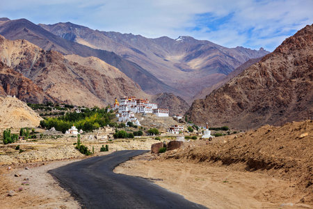 Spituk gompa, Ladakh, India Stock Photo - 116080866