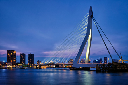Erasmus Bridge, Rotterdam, Netherlands