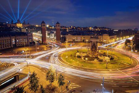 Plaça d'Espanya, Barcelona, España