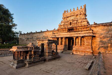 Entrance tower called as gopura of Airavatesvara Temple, Darasuram