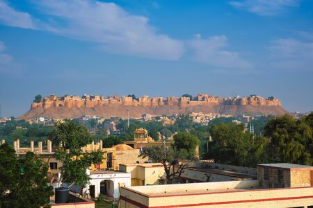 Jaisalmer Fort known as the Golden Fort Sonar quila, Jaisalmer, India