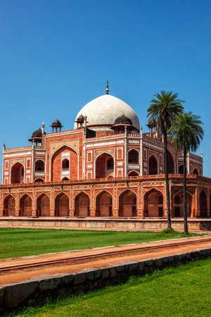 Humayuns Tomb. Delhi, India
