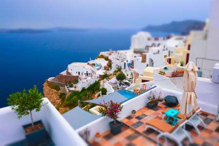 Famous greek tourist destination Oia, Greece
