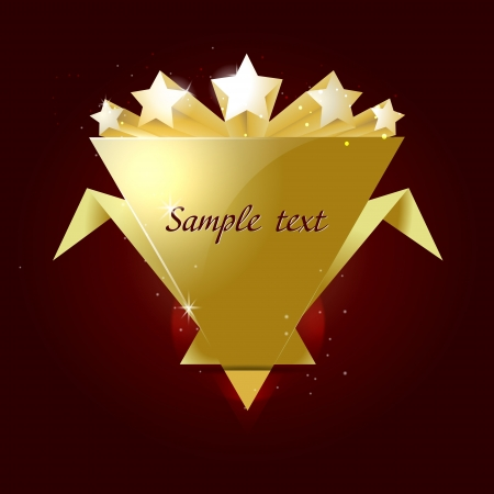 rated: 5 stars rated gold shape. nice template