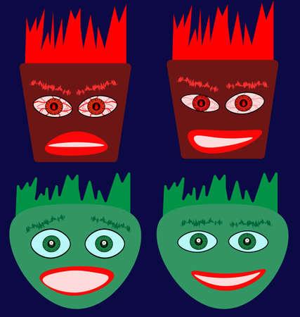 emotion faces: Emotion faces image