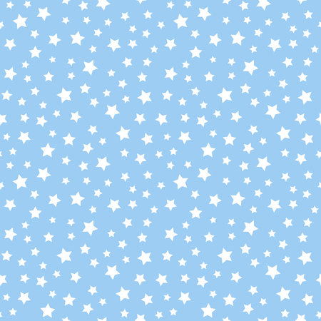 Abstract seamless pattern with stars.