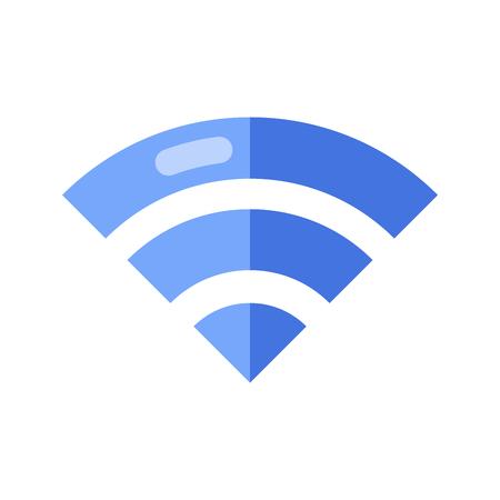 Wireless Network Symbol. Wifi sign