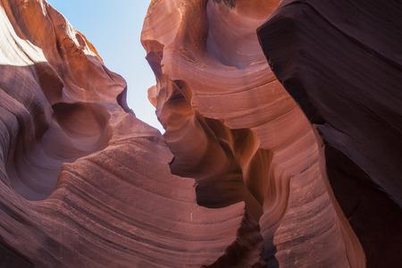Interior Antelope Canyon. Utah. USA