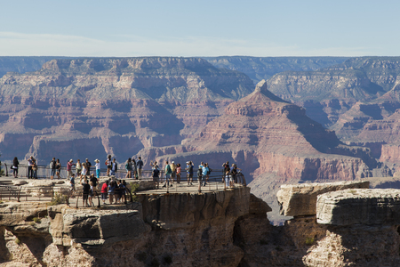 viewpoint of the Grand Canyon of Colorado