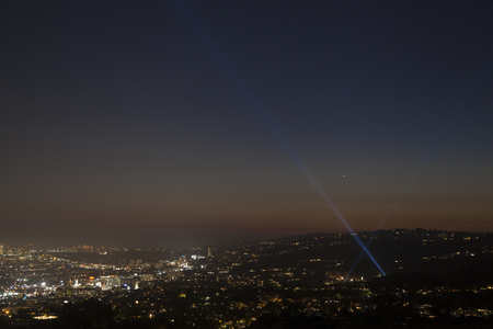Los Angeles Night View from the Griffith Observatory