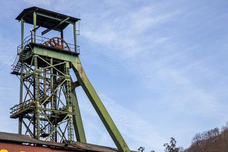 Castillete mining Asturian. Pozo Sot?n