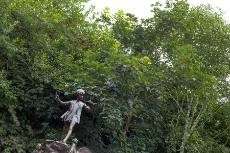 Tribute to Peter Pan. Hyde Park. London