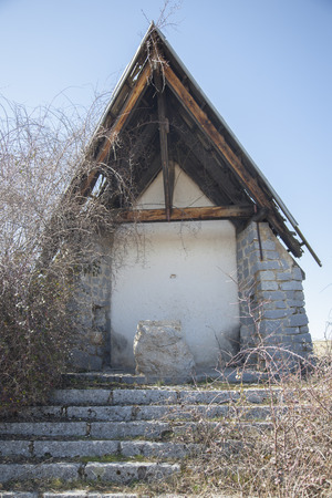 Hut abandoned in Navacerrada. Madrid
