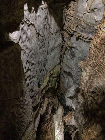 interior of the indian cave in vi?ales Foto de archivo